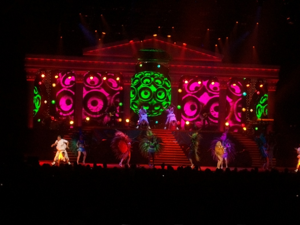 Kylie MInogue's Aphrodite World Tour in Montreal 2011
