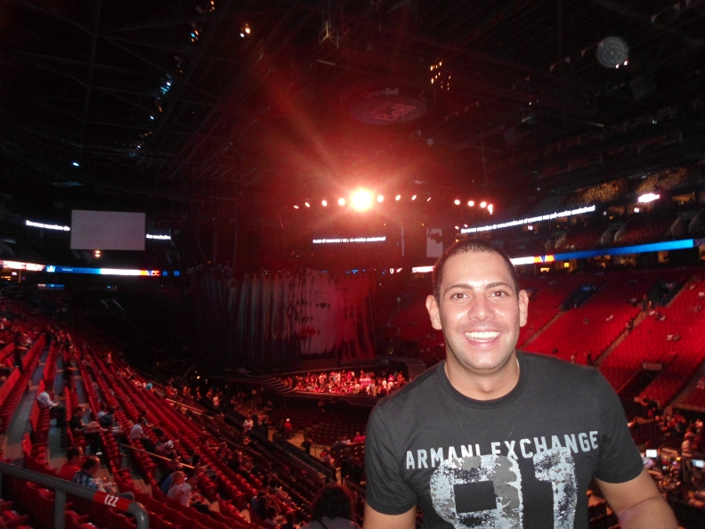 Felsite at the Madonna's MDNA World Tour 2012 in Montreal