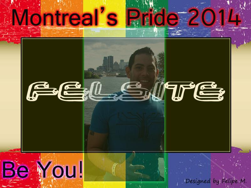 Pride 2014 - Graphic Banner designed by Felipe M.