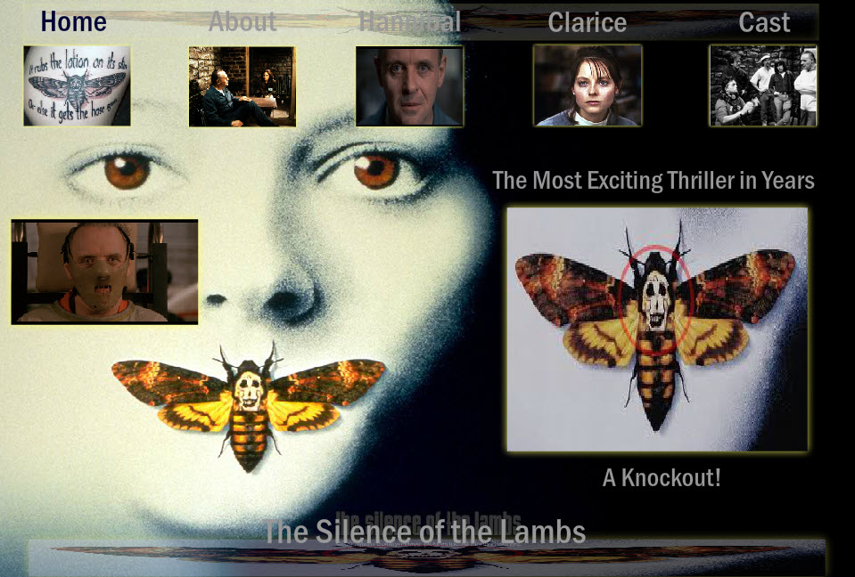 The Silence of the Lambs Website