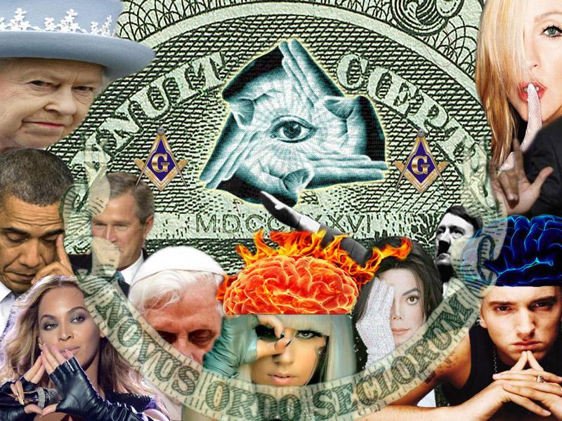 Illuminati Stars - Graphic Mockup