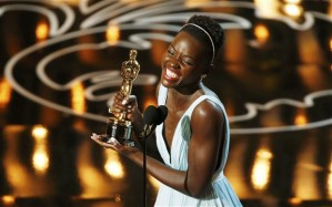 """Lupita Nyong'o wins Best Supporting Actress for her role in """"12 Years a Slave"""""""