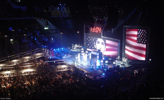 Stage of the Re-invention World Tour