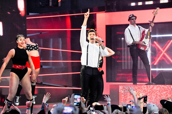 Hedley performs at the MMVA'S 2014 in Toronto.