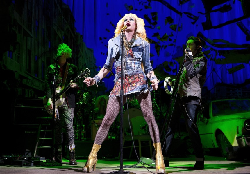 Neil Patrick Harris performs with 'Hedwig and the Angry Inch' at Tony Awards 2014. Harris wins Best Actor.
