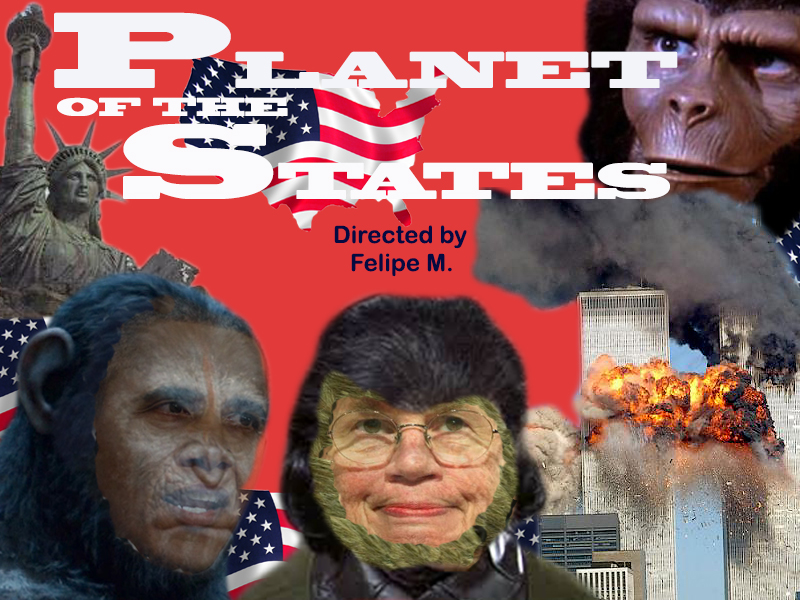 Planet of the States - Movie Banner
