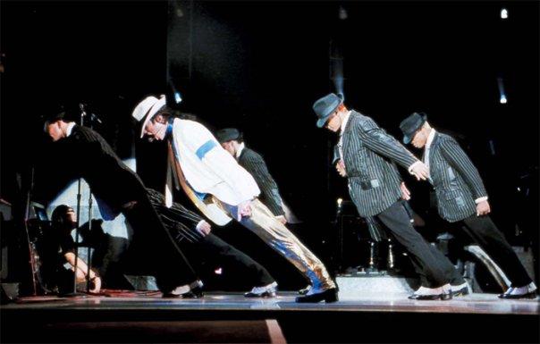 Michael Jackson performing: