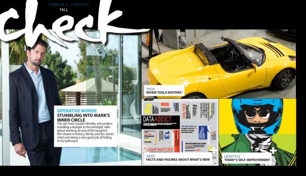 Check - Cover Magazine by Felipe M.