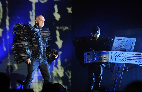 The Pet Shop Boys Live at the Fox Theater in San Francisco.