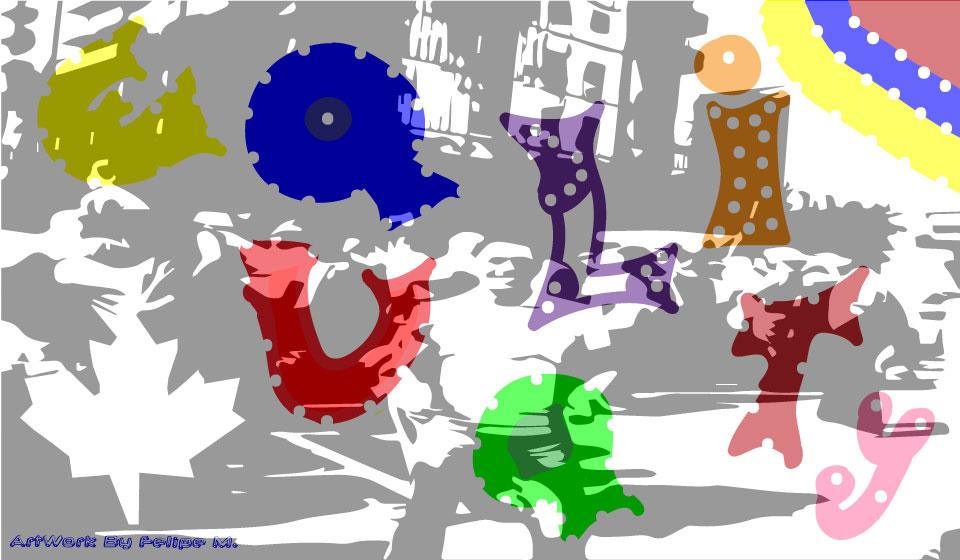 Equality - Digital Drawing Designed by Felipe M.