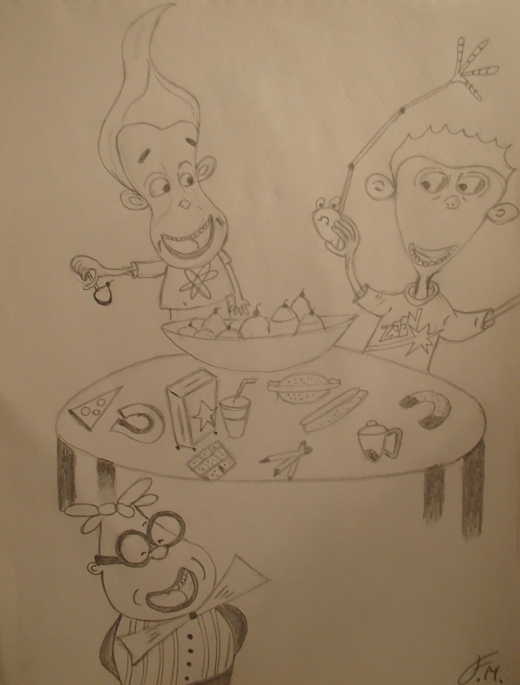 Party Time - Sketch by Felipe M.