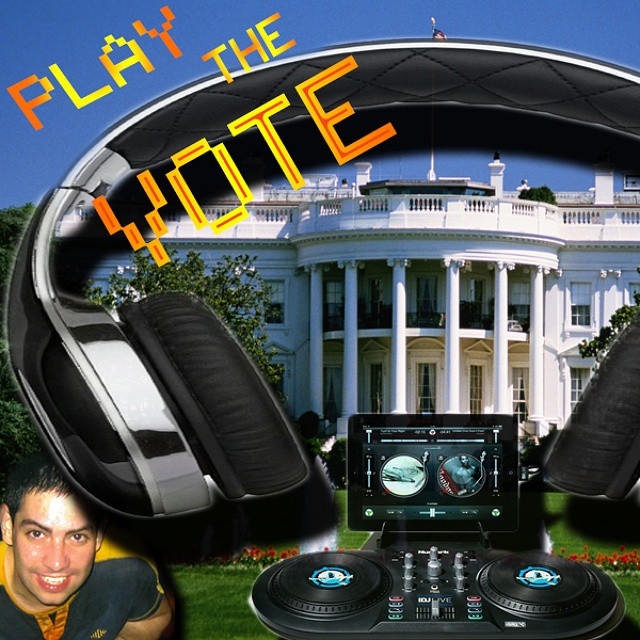 Play the Vote - Graphic Banner created by Felipe M. @ felsite.net