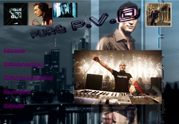 Pure PVD - Animated Flash Website created by Felipe M.